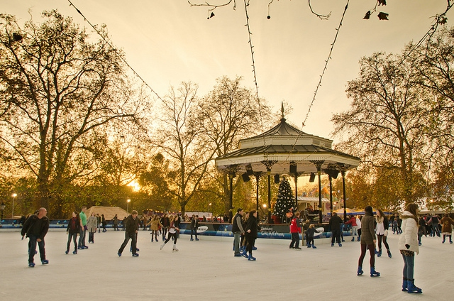 Flickr - Garryknight Winter Wonderland at Hyde Park never fails to delight.
