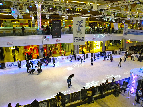 Flickr - JasonParis Ice skating at Westfield Shopping Centre