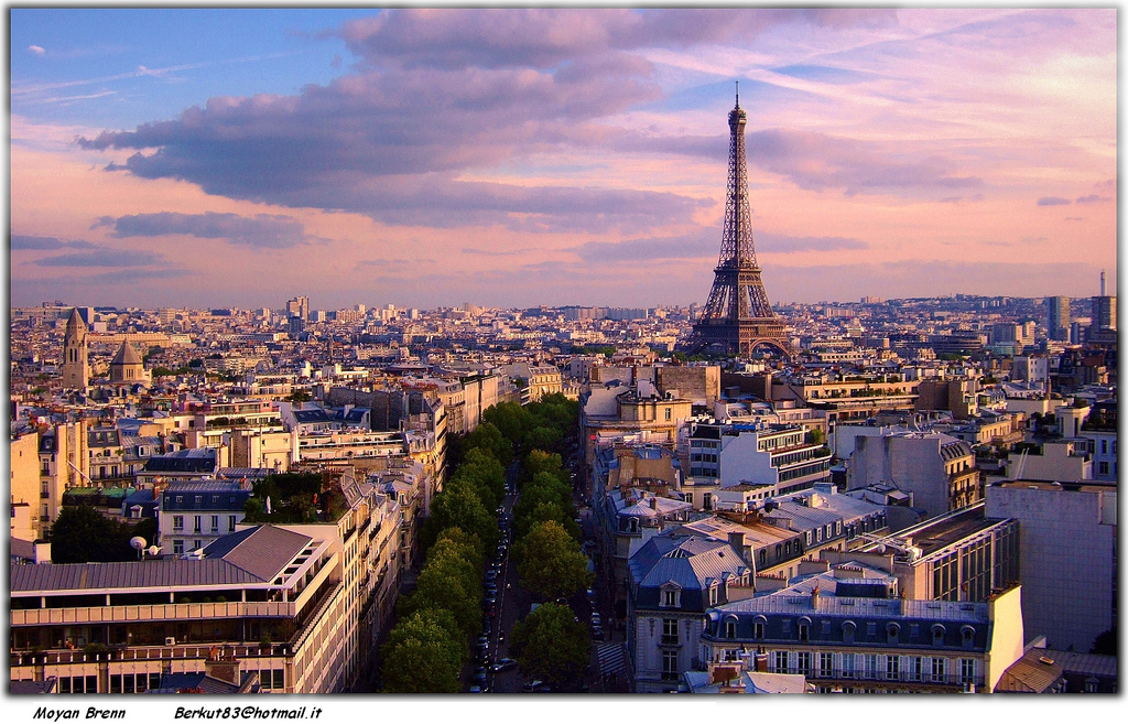 paris part 1 blog eiffel tower pic Moyan_Brenn