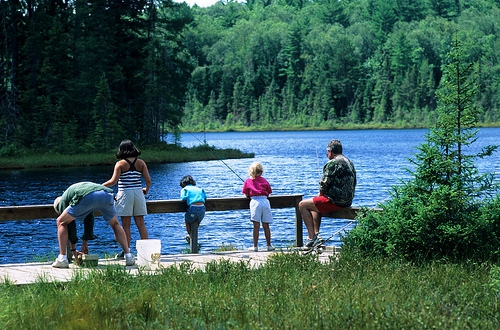 Take the whole family to enjoy a day out on the lake. Flickr: Wisconsin Department of Natural Resources