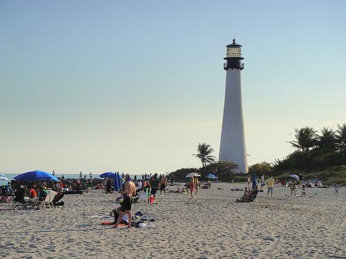Beach at Cape Florida State Park. flikr:  mattk1979