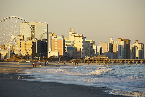 Myrtle Beach. Flickr: Greg Kintz