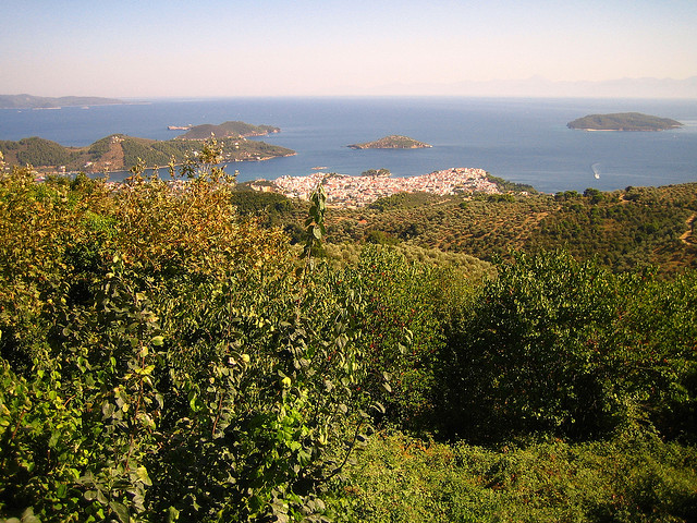 view on sea and islands
