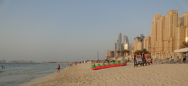 Dubai in winter
