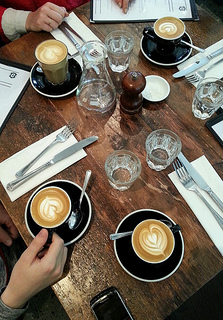 Caravan serve breakfasts, but their coffee is tops. Flickr: Chicca Cappuccino