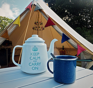 Keep Calm and Carry on Camping