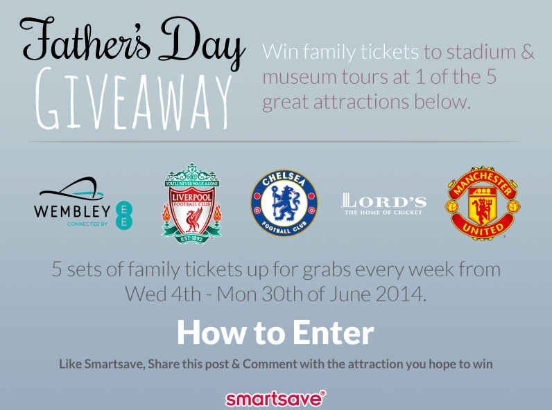 Father's Day Giveaway (Social) fb 2014