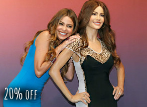 20% off at Madame Tussauds Las Vegas