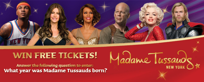 When was Madame Tussauds born?