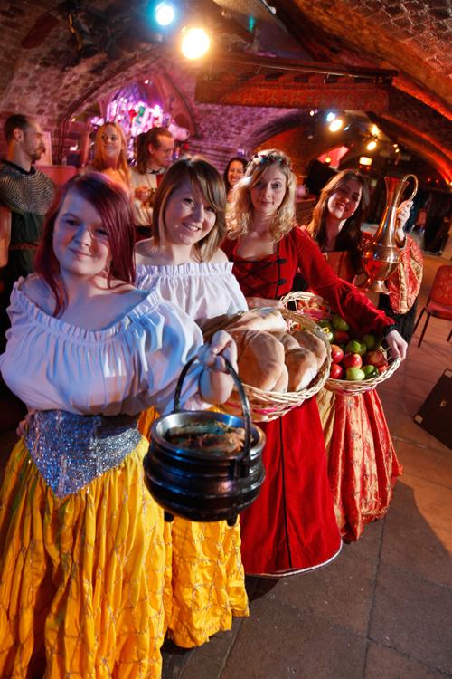 food medieval banquet