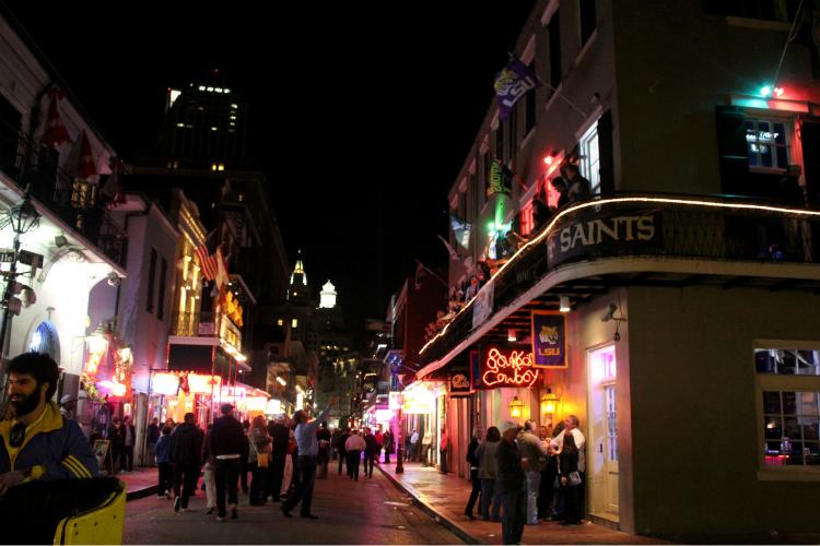 Bourbon Street - Flickr:  Quinn Dombrowski