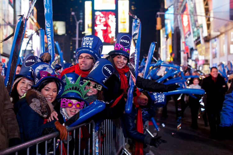 New Years in Times Square - Flickr: Anthony Quintano