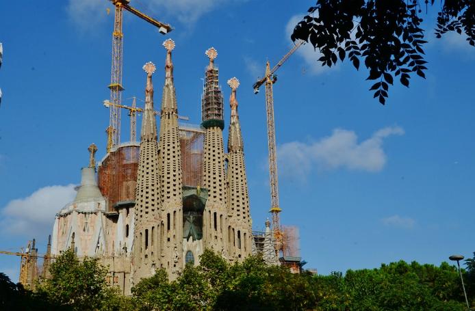 Sagrada Familia - Flickr: Maria Rosa Ferre