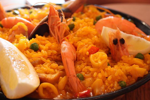 madrid-paella