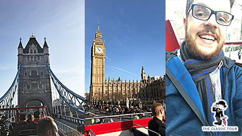 Classic London Tour -Open Top Bus Tour
