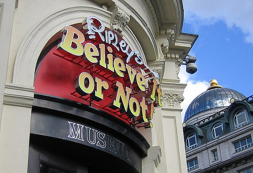 #new#Ripleys Believe It Or Not London