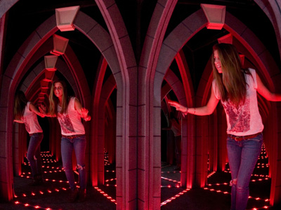 Ripley's London mirror maze