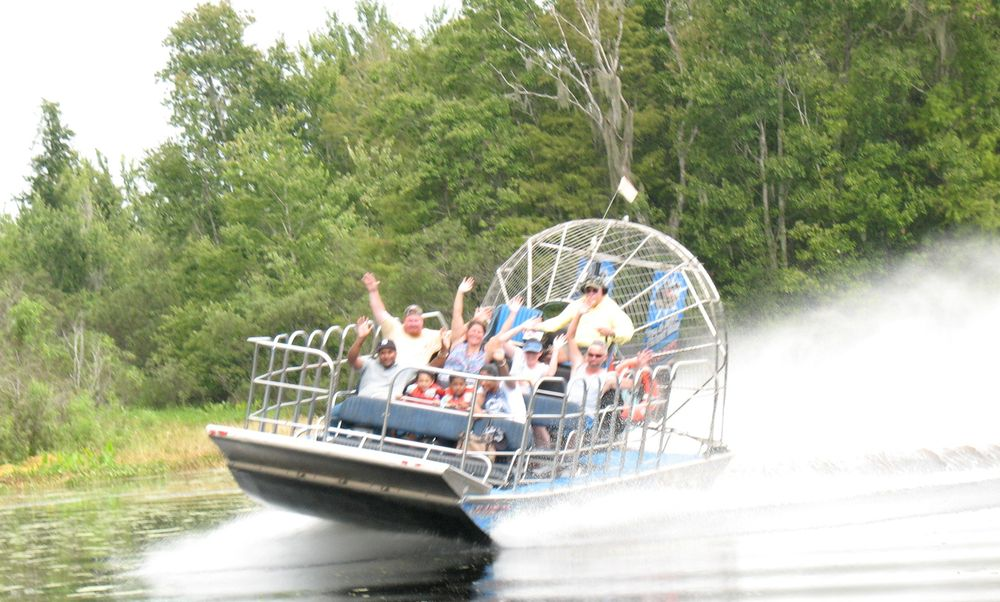 Tom and Jerry's Airboat Rides