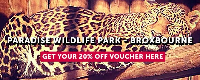 NEW Paradise wildlife park
